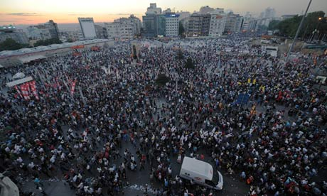 Taksim Square protest