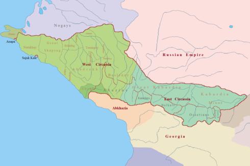 Circassia_in_1750