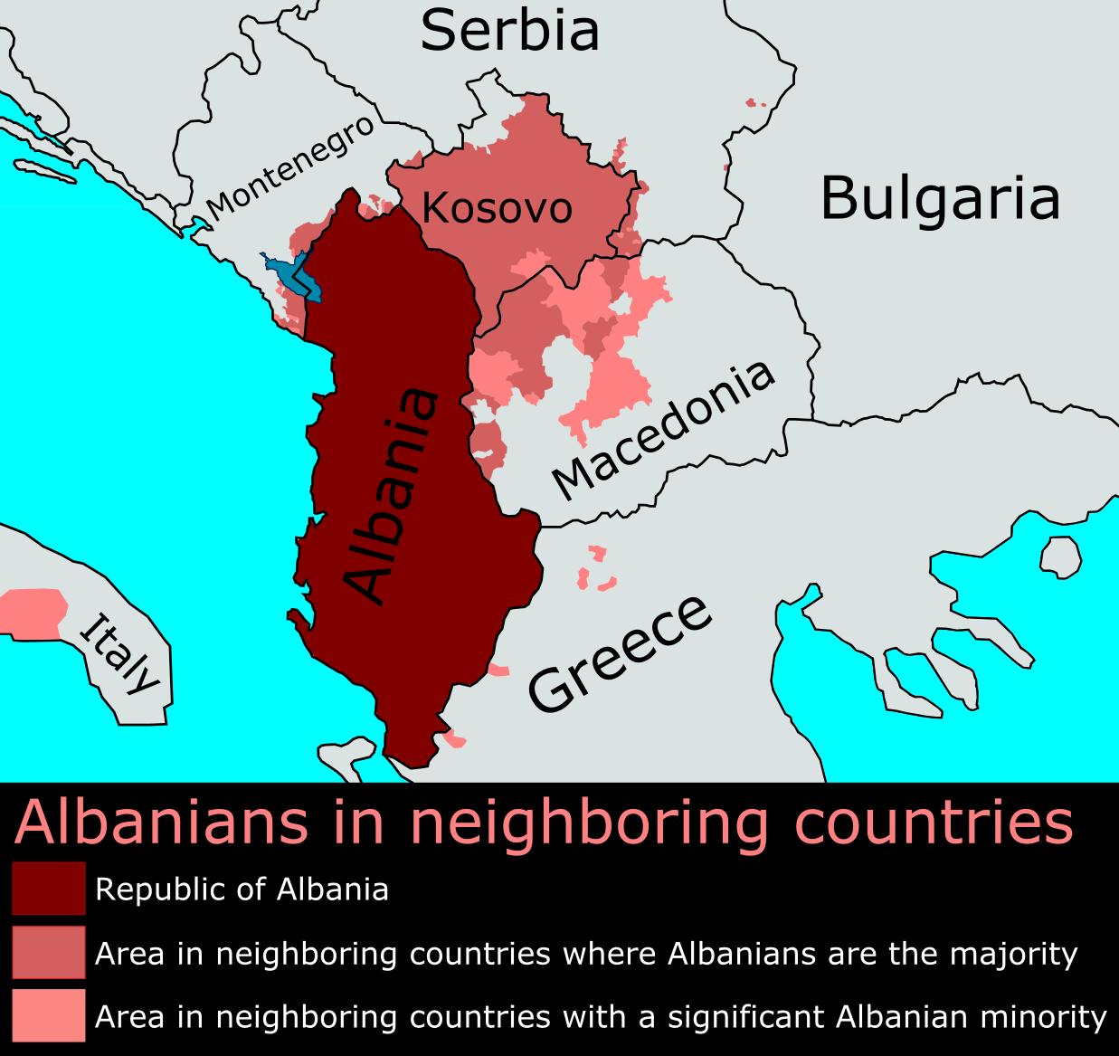 AlbaniansOutsideAlbania