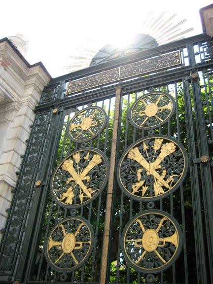 Galatasaray Lisesi gates