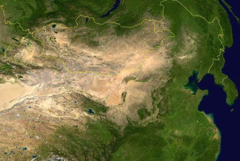 Mongoliamap-satellite