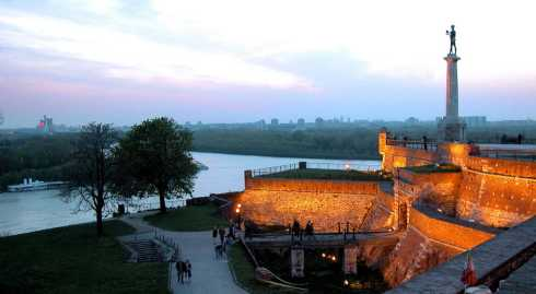 Belgrade-Kalemegdan-at-dawn