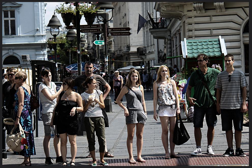 Belgrade street scene
