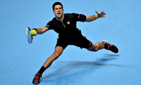 Serbia's Novak Djokovic has shown that he is top dog when it comes to survival of the fittest.