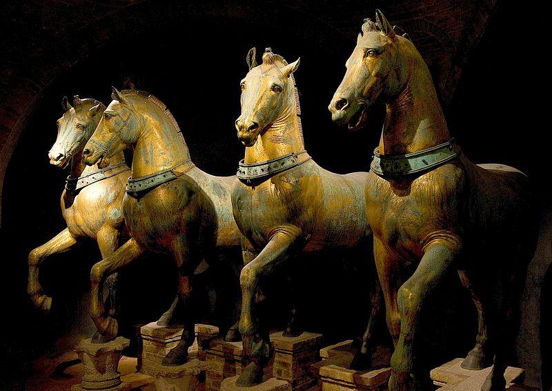 File-Horses of Basilica San Marco bright