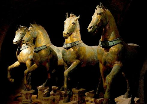 File-Horses of Basilica San Marco bright