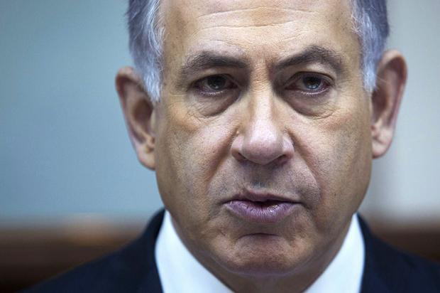Israeli PM Netanyahu weekly cabinet meeting