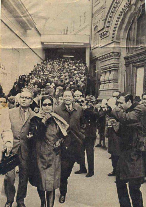 Um Kulthum in Paris 1967
