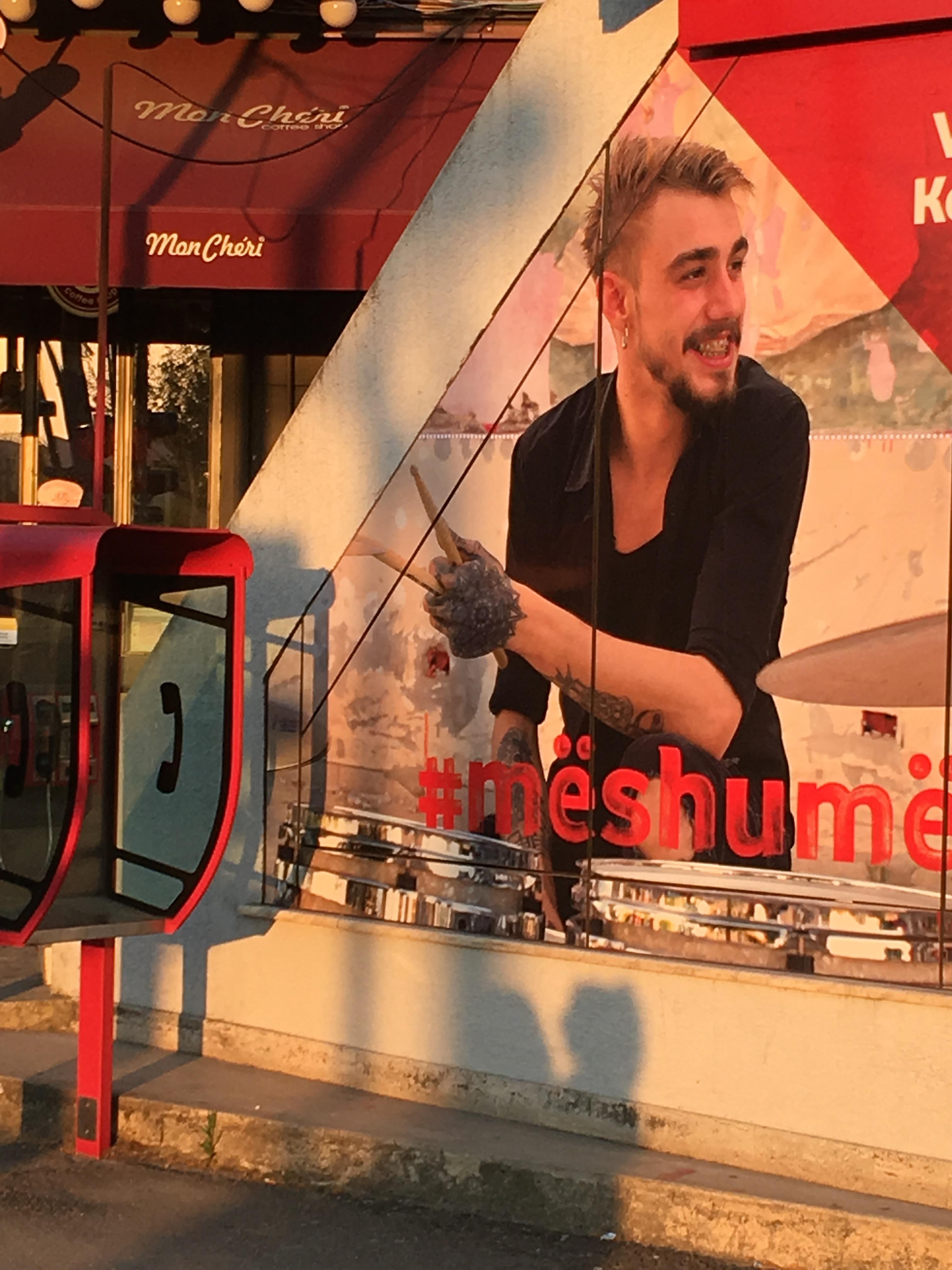Albanian cellphone ad