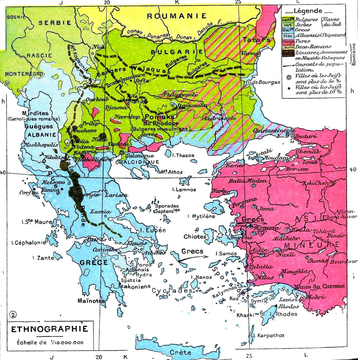 Balkans-ethnique
