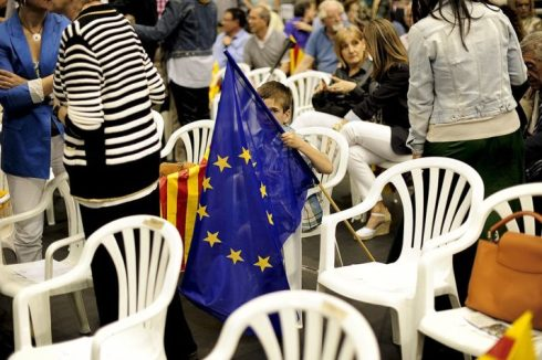 SPAIN-EU-VOTE-CIU