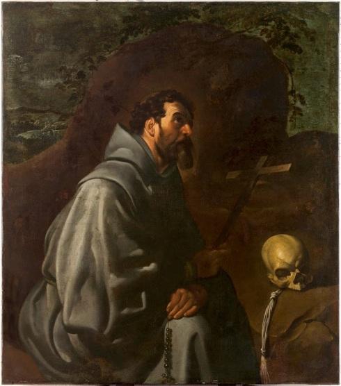 San Francisco de Asís Orante Diego Velásquez
