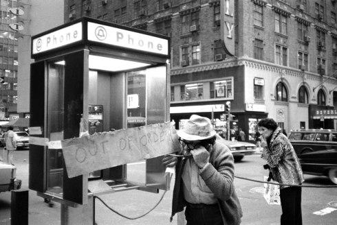 New York phone booth