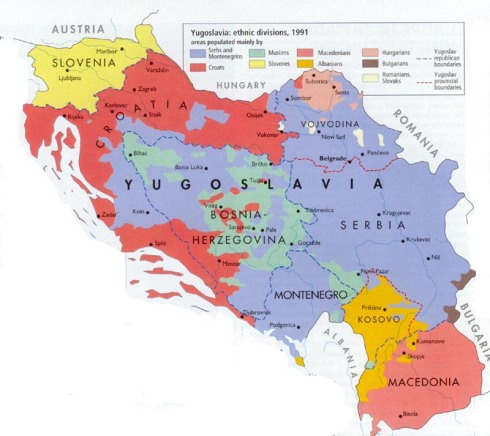 Yugo ethnic breakdown