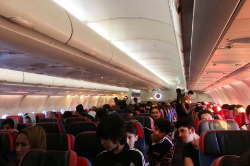 Afghans plane