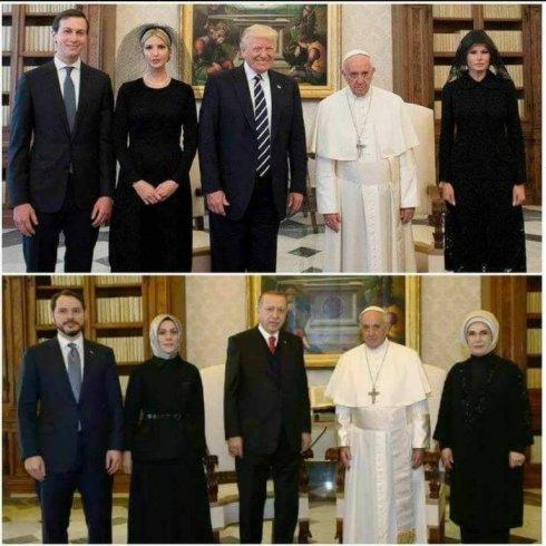 Trump Pope